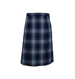 Elder Dunbar Plaid 4-pleat Skirt #3953BG