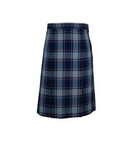 Elder Dunbar Plaid 4-pleat Skirt #3953BG