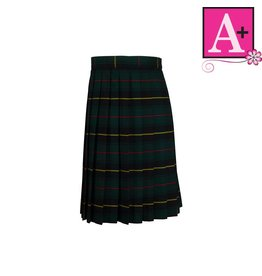 School Apparel A+ Aberdeen Plaid Knife Pleat Skirt #1832