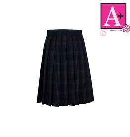 School Apparel A+ Lewis Plaid Knife Pleat Skirt #1032PP