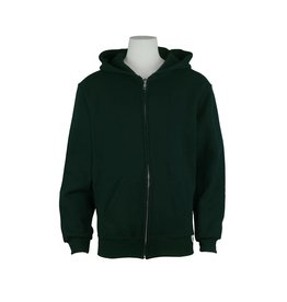 Russell Green Hooded Pullover Sweatshirt