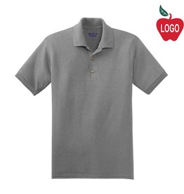 Gildan Sport Grey Short Sleeve Polo #8800