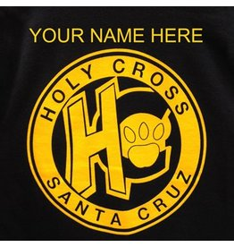 Personalize My Holy Cross Sweatshirt with My Student's Name