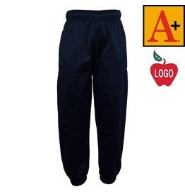 School Apparel A+ Navy Blue Sweatpants #6213