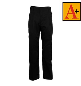 School Apparel A+ Black Pleated Pants #7027