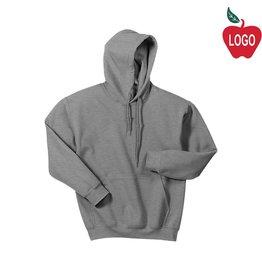 Gildan Sport Grey Hooded Pullover Sweatshirt #18500