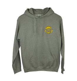 Gildan K18 Grey Hooded Sweatshirt