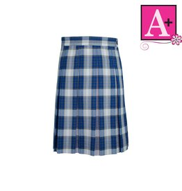 School Apparel A+ Taylor Plaid Box Pleat Skirt #1997PP