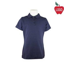 Elder Navy Short Sleeve Interlock Polo #7771