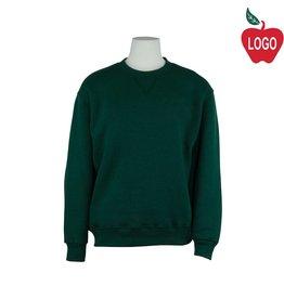 Soffe Green Crew Sweatshirt #9000