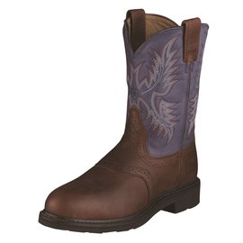 Ariat Men's Ariat Sierra Saddle Steel Toe Work Boot 10002438 C3