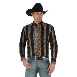 Wrangler Men's Wrangler Checotah Snap Front Shirt MC1214M
