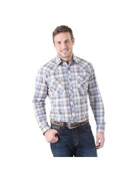 Wrangler Men's Wrangler 20X Snap Front Shirt MJC002M