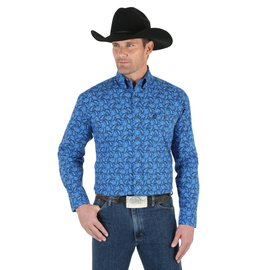 Wrangler Men's Wrangler George Strait Snap Front Shirt MGSB299