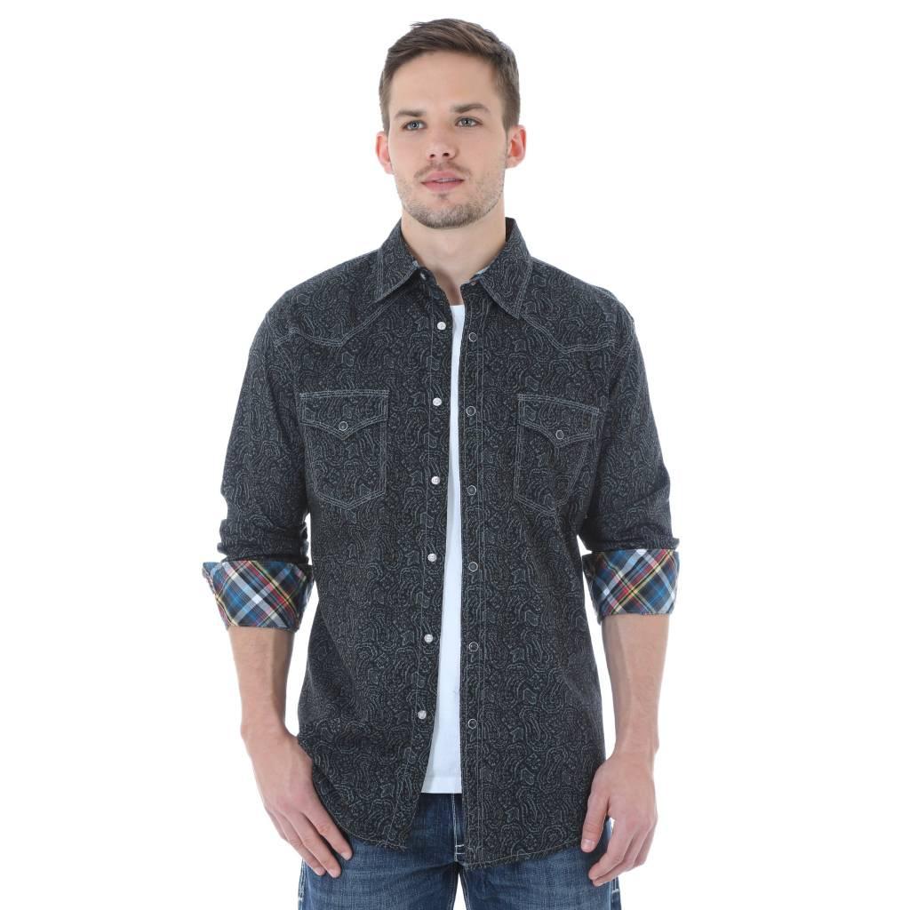 Wrangler Men's Wrangler 20X Long Sleeve Shirt MJ1497M - Corral ...