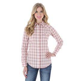 Wrangler Women's As Real As Wrangler Snap Front Shirt LRW732M