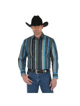 Wrangler Men's Wrangler Brushpopper Long Sleeve Shirt MB1052M