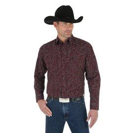 Wrangler Men's Wrangler George Strait Troubadour Long Sleeve Shirt MGS62WN