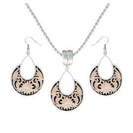 Montana Silversmiths Montana Silversmiths Jewelry Set JS1557RG