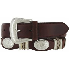 Tony Lama Men's Tony Lama Western Belt 9117L