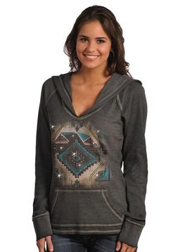 Rock and Roll Cowgirl Women's Rock & Roll Cowgirl Hoodie 48H4244