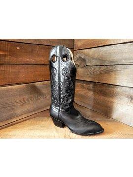 Hondo Women's Hondo Black Western Boot 8-3 2820L