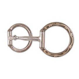 Classic Equine CE TOOL BOX BIT D RING SNAFFLE MP TBBIT2DR20