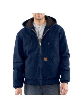 Carhartt Men's Carhartt Quilted Flannel Line Sandstone Active Jacket J130-MDT