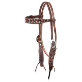 Martin MARTIN TURQUOISE AND COPPER DOTS BROWBAND HS HB86TQDAL