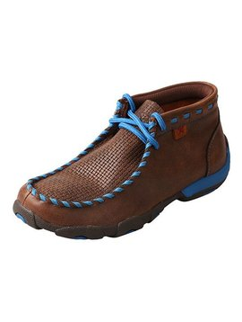 Twisted X Children's/Youth's Twisted X Driving Moccasin YDM0027