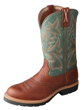 Twisted X Men's Twisted X Steel Toe Cowboy Work Boot MSC0005