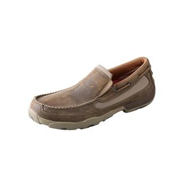Twisted X Men's Twisted X Slip-On Driving Moccasin MDMS002