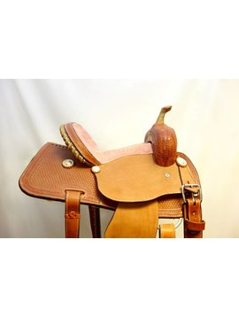 Corriente CORRIENTE KIDS PINK SEAT BARREL SADDLE