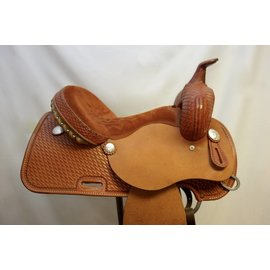 Courts COURTS TWO TONE BARREL SADDLE 14