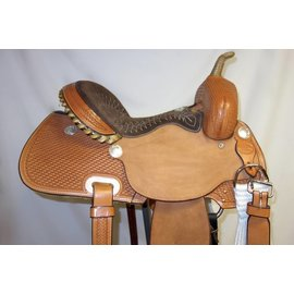 Billy Cook BILLY COOK BARREL SADDLE 15.5""