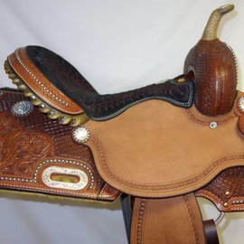 Billy Cook BILLY COOK RED STITCHING BARREL SADDLE
