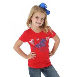 Wrangler Girl's Wrangler T-Shirt GWK601R