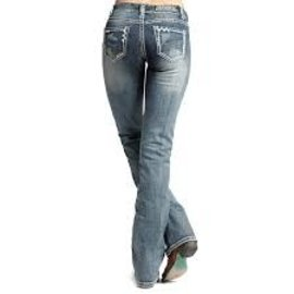 Rock and Roll Cowgirl Women's Rock & Roll Cowgirl Jean W1-6434