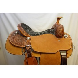 Martin MARTIN XT ROPER SADDLE CHOCOLATE 15.5""