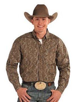 Panhandle Men's Tuf Cooper Button Down Shirt TCD5574