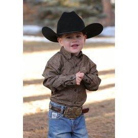 Cinch Infant's Cinch Button Down Shirt MTW7062147-BRN