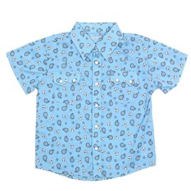 Wrangler Infant's All Around Baby by Wrangler Snap Front Shirt PQ6403B