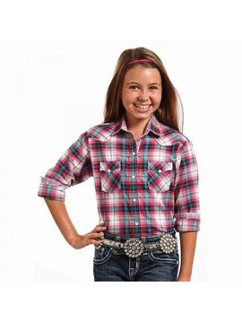 Panhandle Girl's Panhandle Snap Front Shirt C6S3810