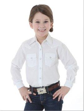 Wrangler Girl's Wrangler Snap Front Shirt GW8211W