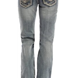 Rock and Roll Cowgirl Women's Rock & Roll Cowgirl Riding Jean W7-1541