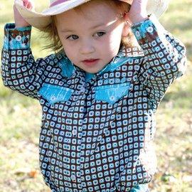 Cruel Girl Infant's Cruel Girl Snap Front Shirt CTW6502002-AQU