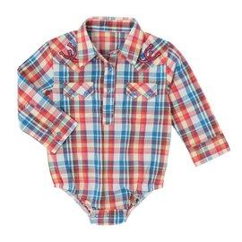 Wrangler Infant's All Around Baby by Wrangler Bodysuit PQ3861M