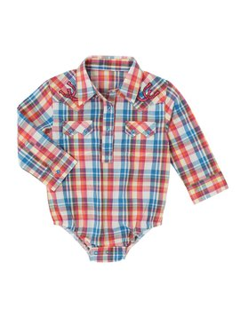 Wrangler Infant's All Around Baby by Wrangler Bodysuit PQ3861M
