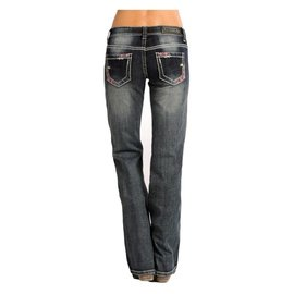 Rock and Roll Cowgirl Women's Rock & Roll Cowgirl Jean W7-4504