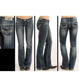 Rock and Roll Cowgirl Women's Rock & Roll Cowgirl Riding Jean W7-4506